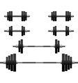 Set of weights second variant vector | Price: 1 Credit (USD $1)