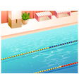 Swimming Pool Lanes vector image