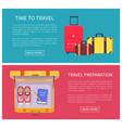 time to travel web pages vector image vector image
