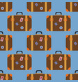 vintage travel suitcases vector image