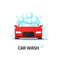 Car wash service auto washing vector image