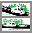 cars Recreational Vehicles Camper vector image vector image