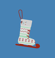 Christmas Stocking icon vector image