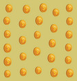 coins background cartoons vector image