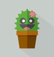 Cute Cactus Pot vector image