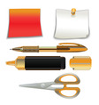 office supplies vector image