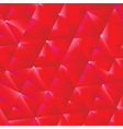 Red Origami Background vector image