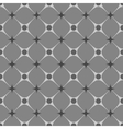 Rhombus and star gray seamless pattern vector image vector image