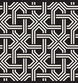 seamless pattern abstract geometric lattice vector image vector image