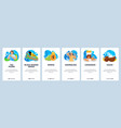 sri lanka website and mobile app onboarding vector image