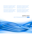 abstract blue background with elegant design vector image vector image