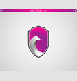 abstract pigeon logo vector image