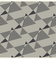 black and white modern geometric seamless pattern vector image vector image