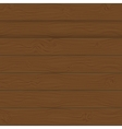 Brown boards Background vector image vector image