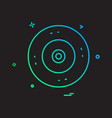 cd icon design vector image