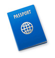 international passport vector image vector image