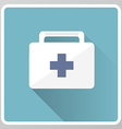 Medical kit icon vector image vector image