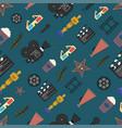 pattern cinema vector image