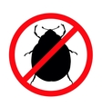 Stop pests vector image