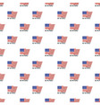 usa we the people pattern seamless vector image vector image