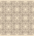 vintage seamless flower pattern vector image