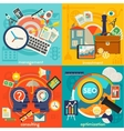 Freelance Management Consulting and Optimization vector image vector image