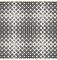 halftone seamless pattern with circles vector image vector image