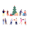 presents for elderly people christmas or new year vector image vector image