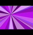 rays radius background violet vector image vector image