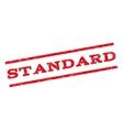 Standard Watermark Stamp vector image vector image