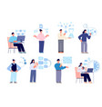successful time management productivity vector image