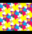 star set abstract pattern vector image