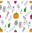 Doodles seamless pattern