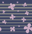 minimalistic striped seamless pattern with simple vector image vector image