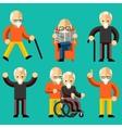 Older people Elderly activity elderly care