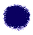 purple crayon scribble texture stain isolated on vector image vector image