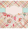 Romantic elegant floral with vintage roses EPS 8 vector image