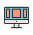 Web Application vector image vector image