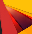Abstract Colorful Background Modern Material vector image vector image