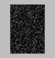 abstract pentagram pattern background flyer vector image vector image