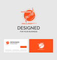 business logo template for chain connect vector image