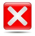 close icon vector image vector image