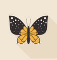 flat butterfly7 vector image vector image