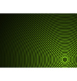 Green Circular Background vector image