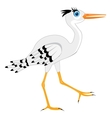 the stork vector image vector image