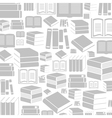 Book a background vector image vector image