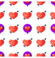 love seamless pattern vector image vector image