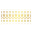 ruby ring gold halftone grid vector image vector image