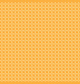 seamless pattern yellow on orange vector image vector image
