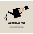 Watering pot vector image